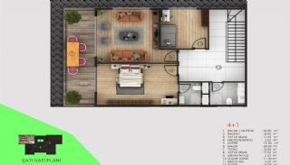 Immobilier Exclusif Vue Sur Mer et Rivière à Alanya, Projet Immobiliers-5