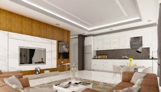 Apartments with Quality Workmanship in Mahmutlar Alanya, Interior Photos-3