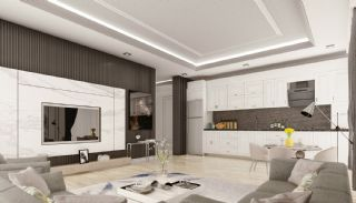 Apartments with Quality Workmanship in Mahmutlar Alanya, Interior Photos-5