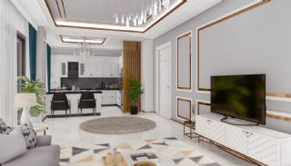 Apartments with Quality Workmanship in Mahmutlar Alanya, Interior Photos-14