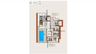 Central Apartments 220 m to the Beach in Mahmutlar Alanya, Property Plans-3