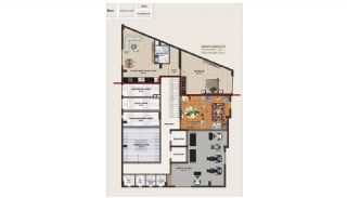Central Apartments 220 m to the Beach in Mahmutlar Alanya, Property Plans-6