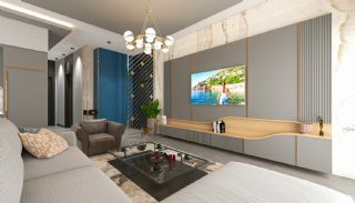 Lyxiga Lägenheter med Havsutsikt i Kargicak Alanya, Interiör bilder-2