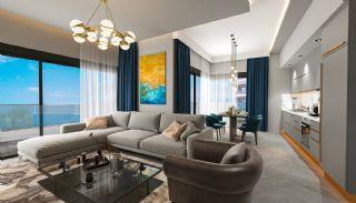 Lyxiga Lägenheter med Havsutsikt i Kargicak Alanya, Interiör bilder-3