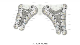 Luxurious Apartments with Sea View in Kargicak Alanya, Property Plans-4
