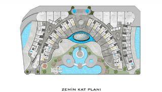 Lyxiga Lägenheter med Havsutsikt i Kargicak Alanya, Planritningar-7