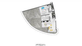Lyxiga Lägenheter med Havsutsikt i Kargicak Alanya, Planritningar-12