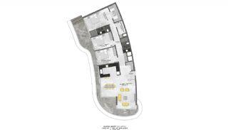 Lyxiga Lägenheter med Havsutsikt i Kargicak Alanya, Planritningar-14