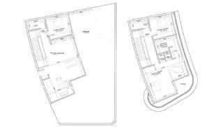 Lyxiga Lägenheter med Havsutsikt i Kargicak Alanya, Planritningar-17