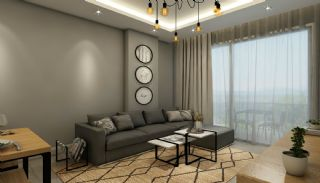 Flats with Remarkable Sea and Mountain Views in Alanya, Interior Photos-4