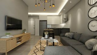 Flats with Remarkable Sea and Mountain Views in Alanya, Interior Photos-7