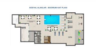 Investitionswohnungen 100 mt zum Meer in Kargicak Alanya, Immobilienplaene-3
