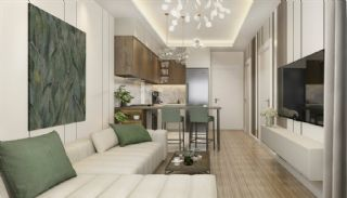 New Properties 250 mt to the Sea in the Center of Alanya, Interior Photos-3
