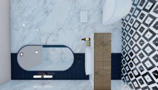 Nouveaux Immobiliers à 250 M de la Mer Au Centre d'Alanya, Photo Interieur-16