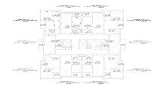 Nouveaux Immobiliers à 250 M de la Mer Au Centre d'Alanya, Projet Immobiliers-1