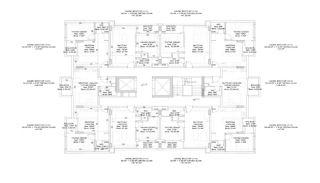 Nouveaux Immobiliers à 250 M de la Mer Au Centre d'Alanya, Projet Immobiliers-5