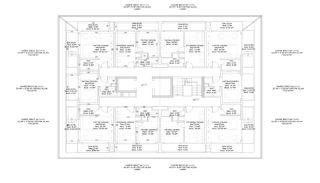 Nouveaux Immobiliers à 250 M de la Mer Au Centre d'Alanya, Projet Immobiliers-6