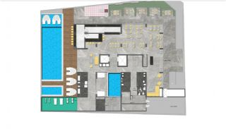 New Properties 250 mt to the Sea in the Center of Alanya, Property Plans-7