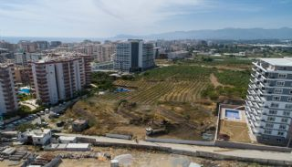 New Flats 700 mt to the Sea in Mahmutlar Alanya, Construction Photos-2