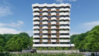 New Flats 700 mt to the Sea in Mahmutlar Alanya, Alanya / Mahmutlar