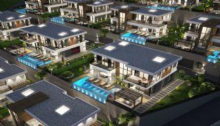 Alanya Kargıcak'ta Deniz Manzaralı Ultra Lüks Villalar, Alanya / Kargıcak