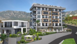 Apartments with Excellent City and Nature Views in Alanya, Alanya / Kargicak - video