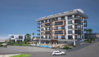 Apartments with Excellent City and Nature Views in Alanya, Alanya / Kargicak