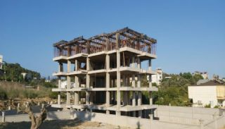 New Flats Intertwined with Nature in Alanya Avsallar, Construction Photos-1