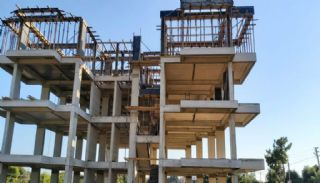 New Flats Intertwined with Nature in Alanya Avsallar, Construction Photos-2