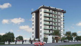 Nya lägenheter sammanflätade med naturen i Alanya Avsallar, Alanya / Avsallar - video