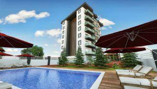 Nya lägenheter sammanflätade med naturen i Alanya Avsallar, Alanya / Avsallar