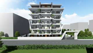 Creative Designed Apartments with Sea View in Alanya, Alanya / Kestel