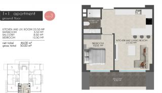Creative Designed Apartments with Sea View in Alanya, Property Plans-2