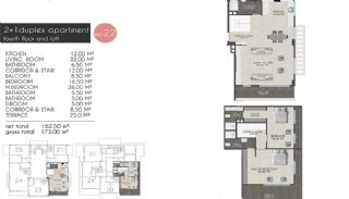 Creative Designed Apartments with Sea View in Alanya, Property Plans-5