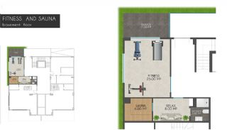 Creative Designed Apartments with Sea View in Alanya, Property Plans-6
