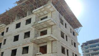 Nya lägenheter 500 meter till stranden i Mahmutlar Alanya, Byggbilder-5