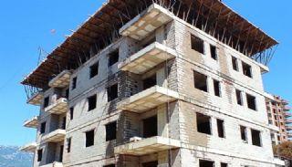 Nya lägenheter 500 meter till stranden i Mahmutlar Alanya, Byggbilder-6
