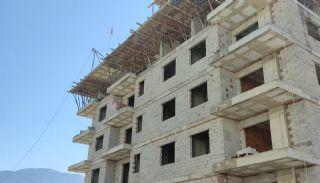 Nya lägenheter 500 meter till stranden i Mahmutlar Alanya, Byggbilder-7