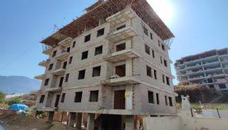 Nya lägenheter 500 meter till stranden i Mahmutlar Alanya, Byggbilder-8