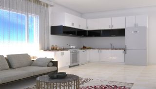Brand New Flats in Alanya 200 mt to Mahmutlar Center, Interior Photos-2