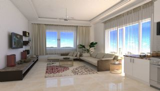 Brand New Flats in Alanya 200 mt to Mahmutlar Center, Interior Photos-5