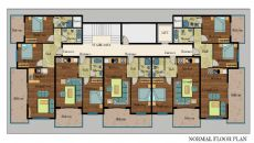 Alanya Beach Apartments II, Property Plans-1