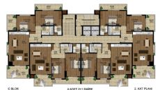 Mahmutlar Luxury Property, Property Plans-1