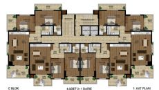 Mahmutlar Luxury Property, Property Plans-4