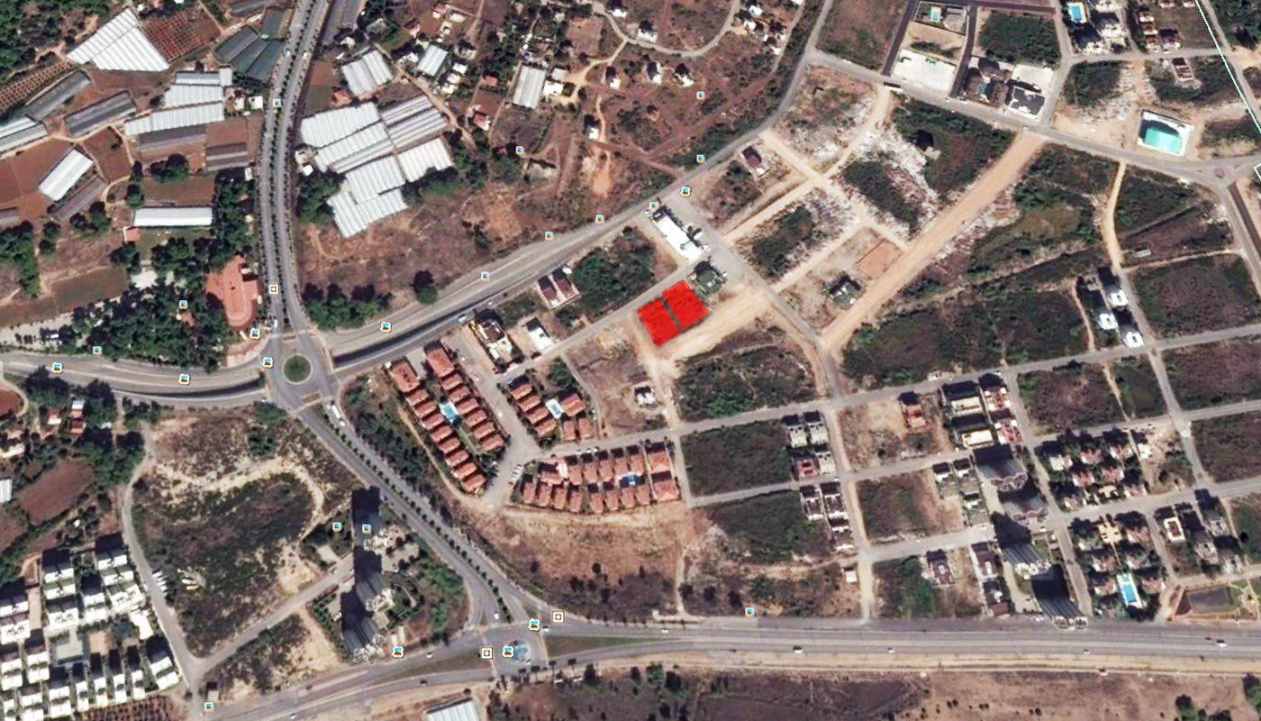 Terrain vendre avec permis de construction antalya for Permis de construction