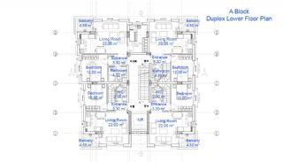 Antalya'da Satılık İmarlı Arsa, Kat Planları-4