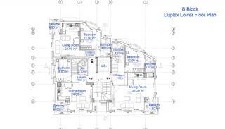 Antalya'da Satılık İmarlı Arsa, Kat Planları-8