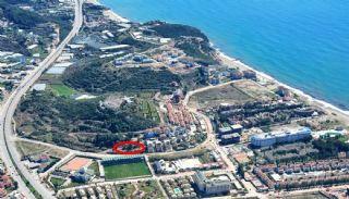 Terrain avec Vue Mer à vendre en Turquie, Konakli / Alanya