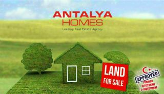 Profitable Land Facing the Main Road in Kepez Antalya, Antalya / Kepez