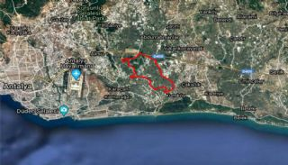 Land Suitable for Agriculture and Construction in Antalya, Antalya / Aksu